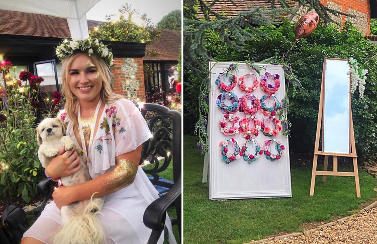 Top Tips For Planning A Festival Themed Hen Party Sign Holders By Green Magic S Blog
