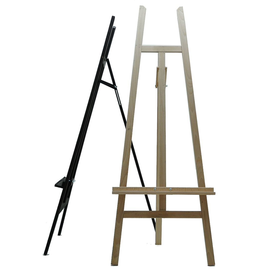 Easel display stands
