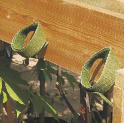 Garden centre tree tie