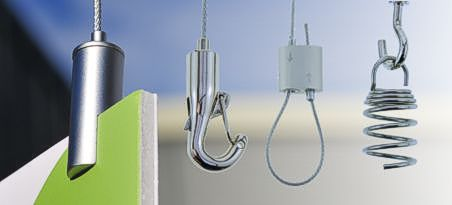 Wire Hanging Display Systems Suspension Wire Kits Sign