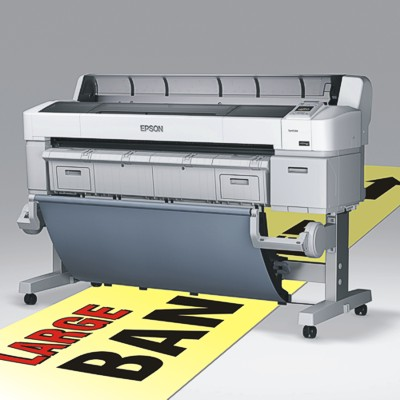 Epson large format printer for banners and POS