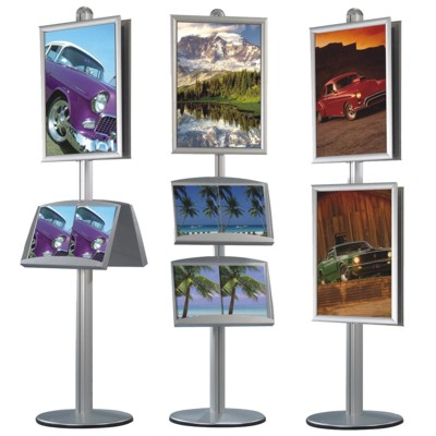 Combined display of graphics and brochures with InfoColumn