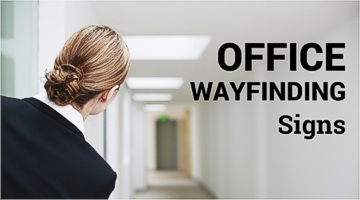 Office wayfinding signage specialists