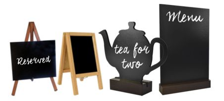 Table Chalkboards