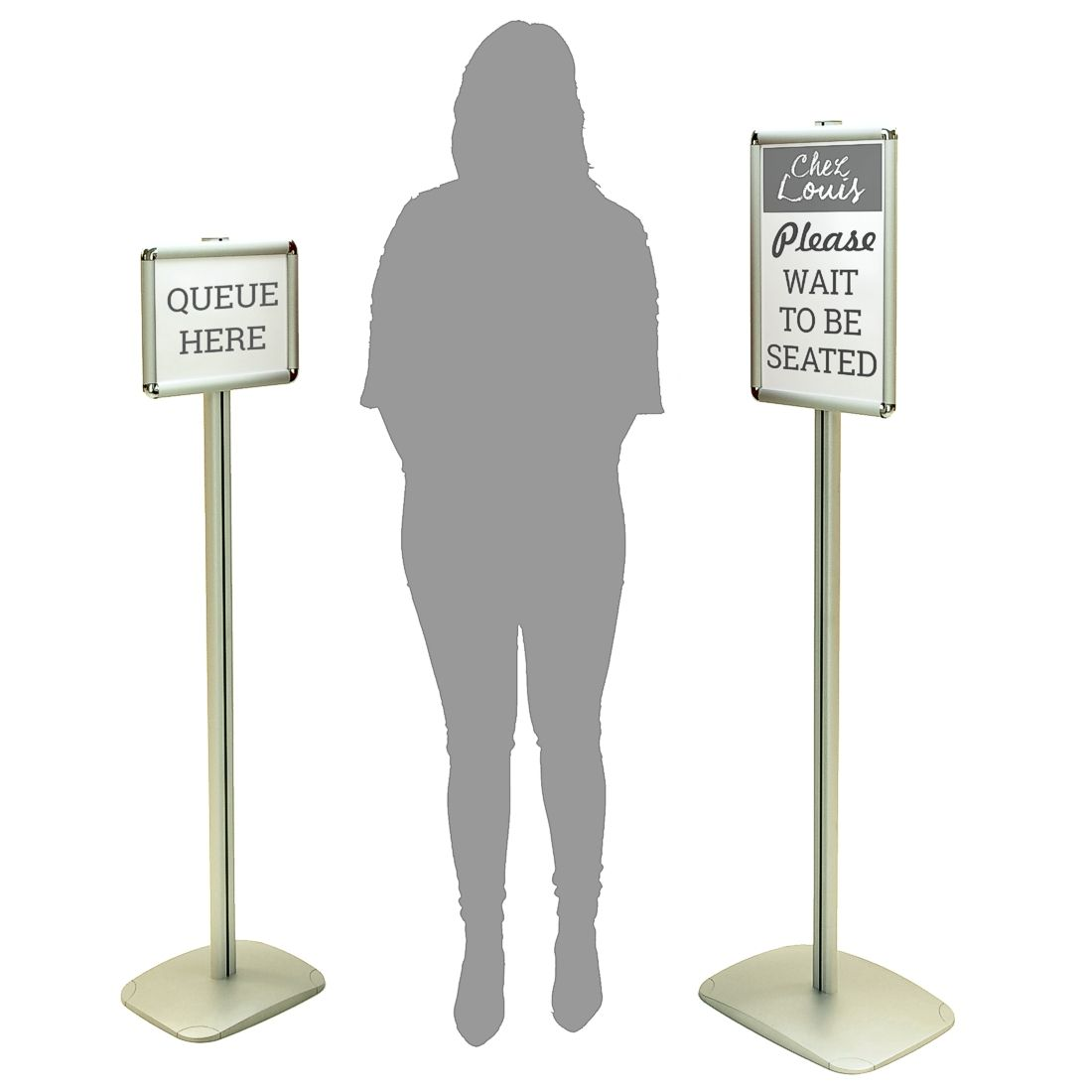 Upright Sign Stand Or Information Point Sign Holderscouk