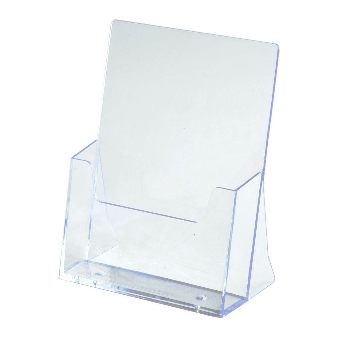 Fashion Acrylic Clear Desktop Business Card Holder Stand Display Dispenser Office Tools Card Holder & Note Holder