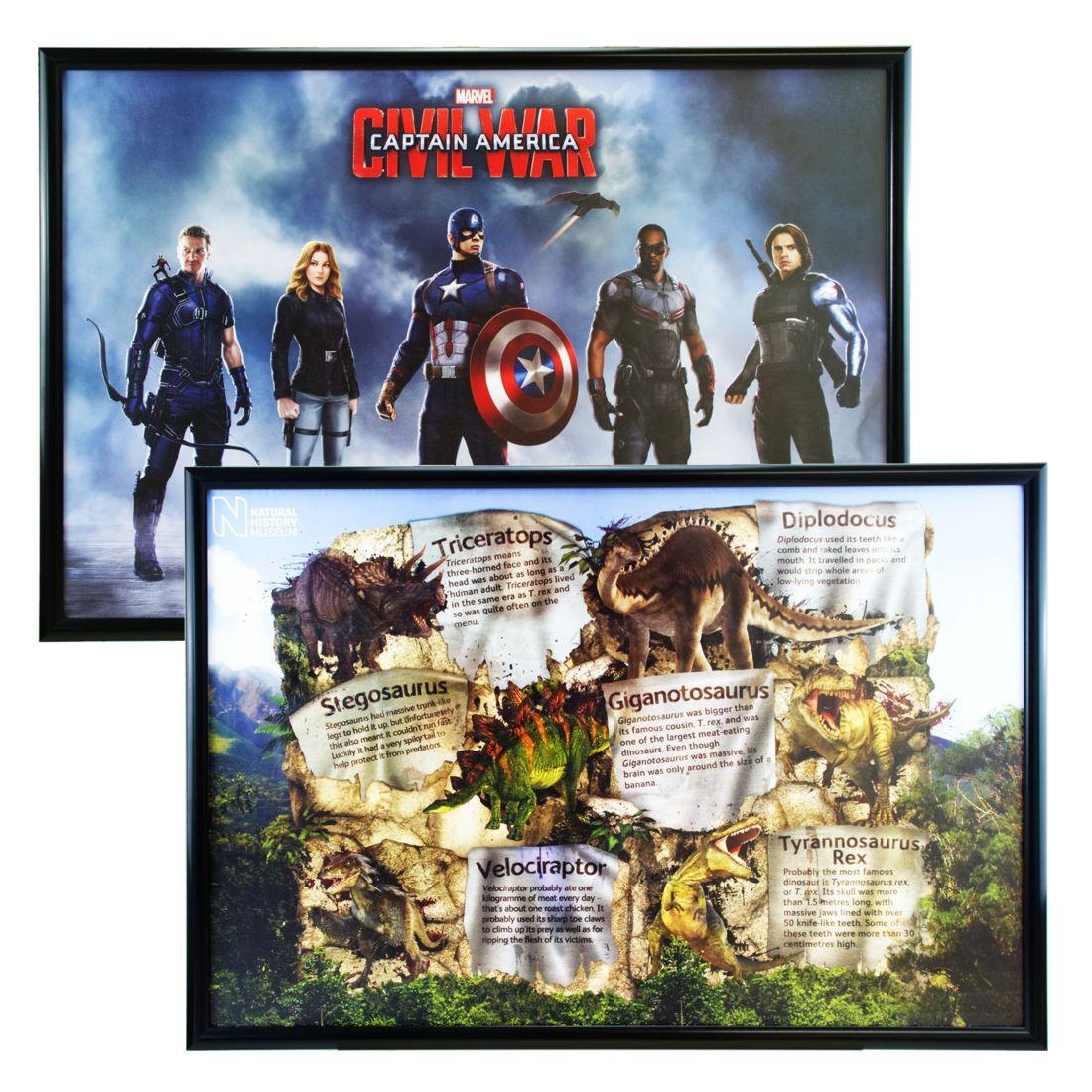 Maxi Poster Frame 61 X 915 Cm Black Metal Sign Holderscouk