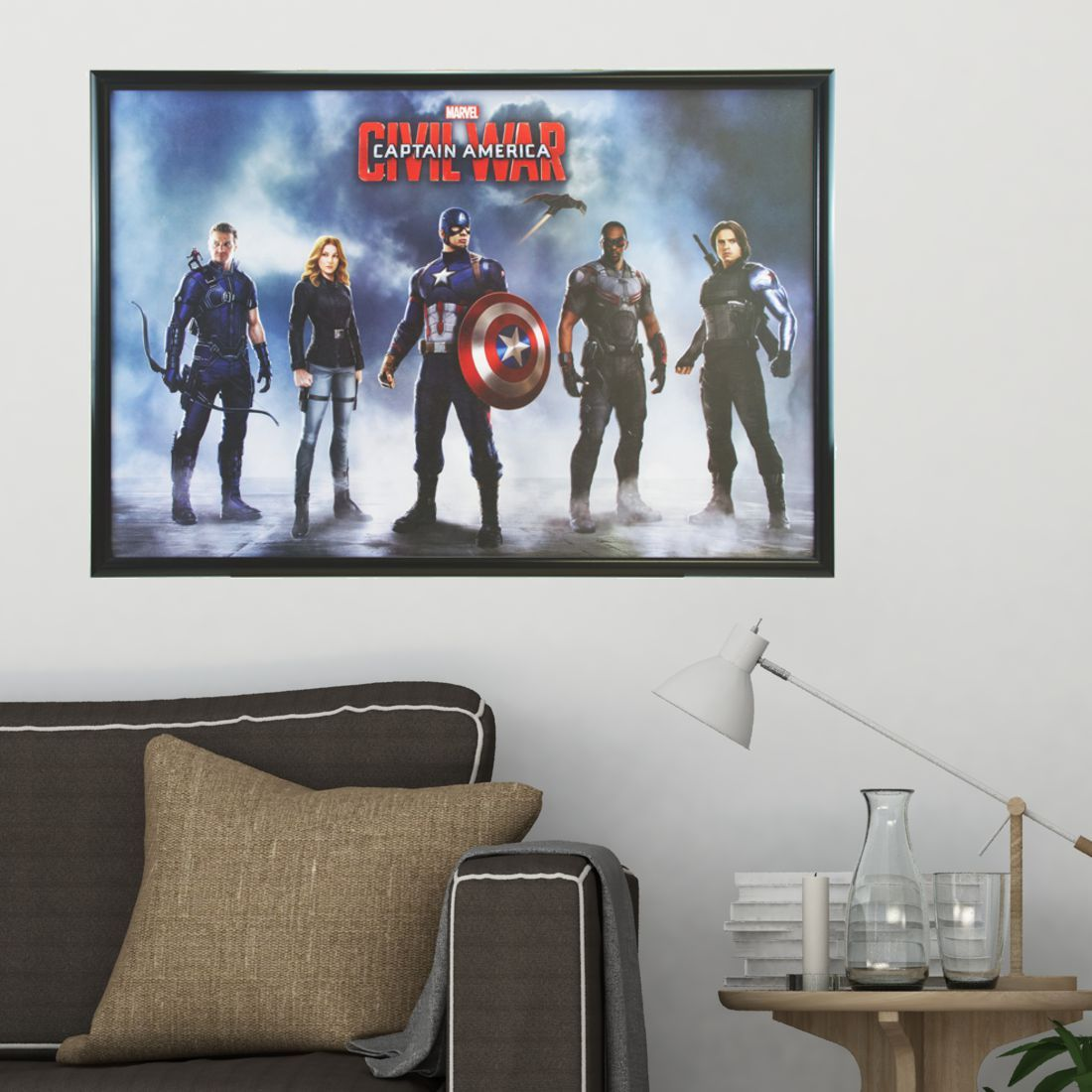 movie poster frames 30mm profile sign. Black Bedroom Furniture Sets. Home Design Ideas