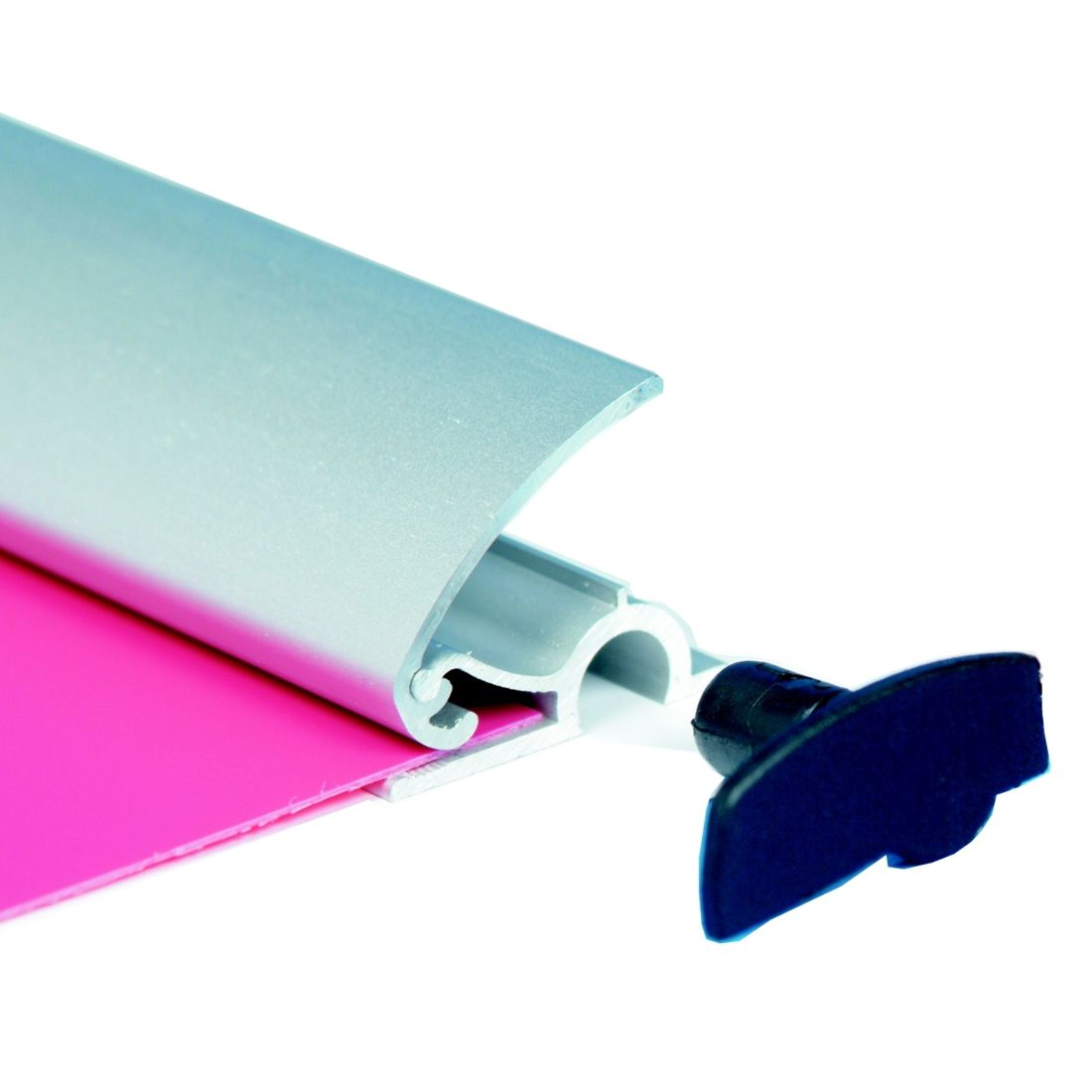 Poster Clamps - banner hanging bars | Sign-Holders.co.uk