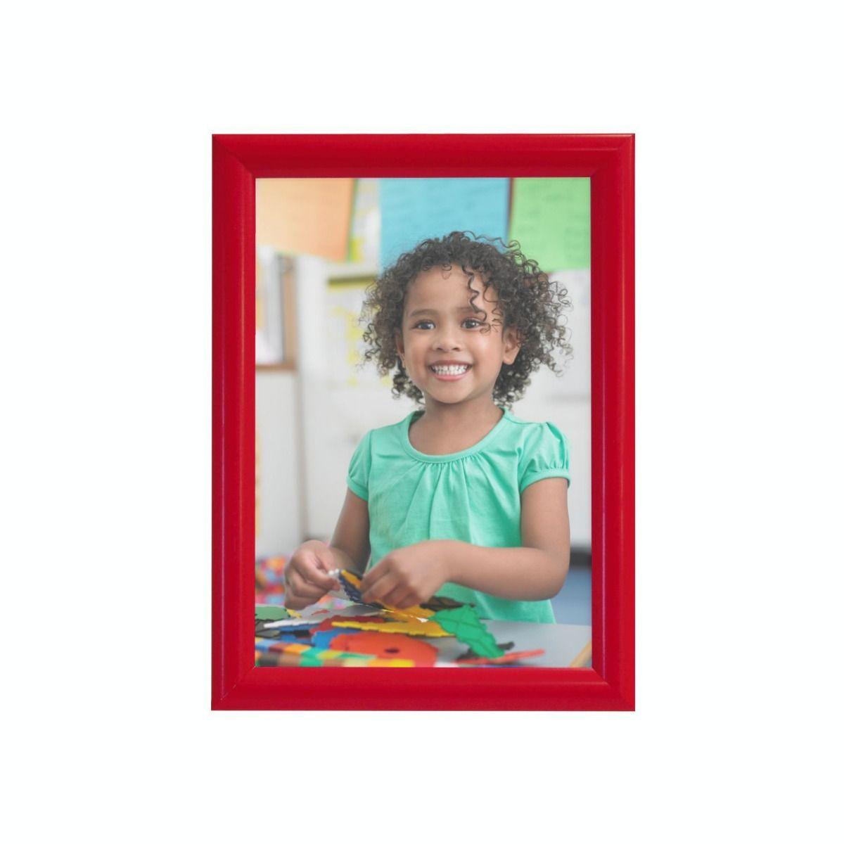 Sign Holders | Red snap frames