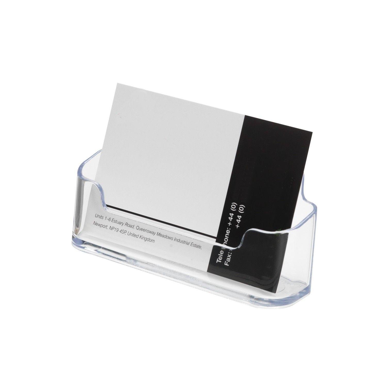 Business Card Holder Tabletop Sign Holders