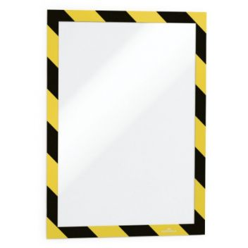 A4 Duraframe adhesive warning sign holder