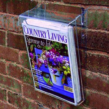 Outdoor waterproof brochure dispenser