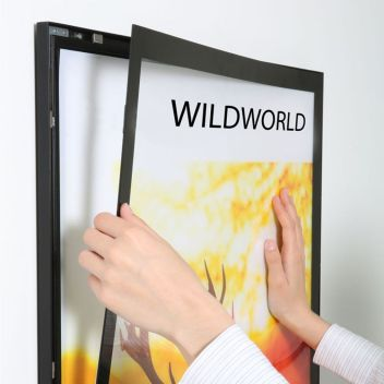 LED wall light boxes for posters | Sign-Holders.co.uk