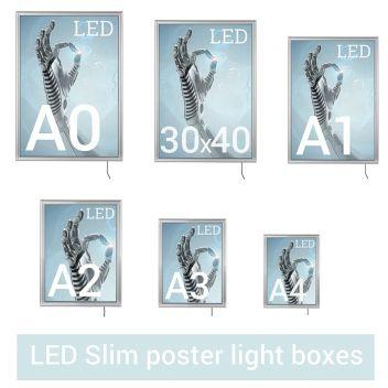 LED Slim poster light boxes