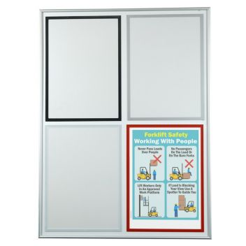 Magnetic notice holders- various colours