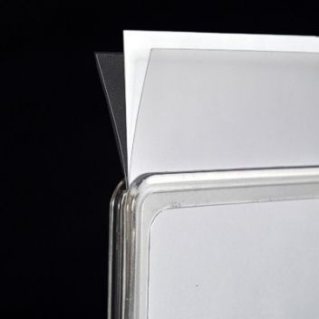 Plastic protector inserts for snap frames | Sign-Holders co uk