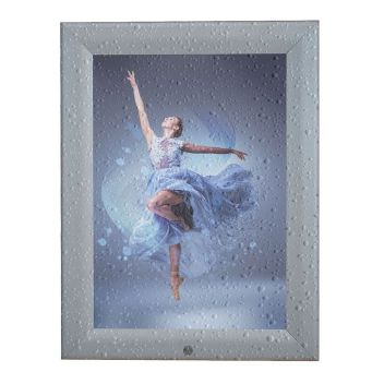 Waterproof lockable snap frames