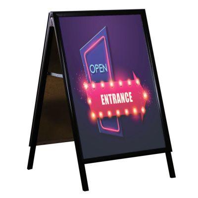 Black A1 snap frame A board