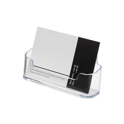 Landscape business card holders - single pocket