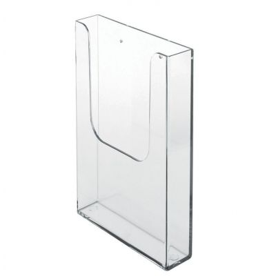 Leaflet holder DL wall mounted