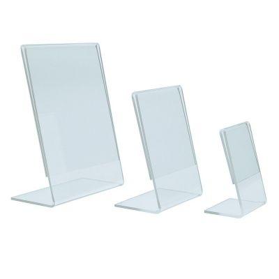 Plastic display stands - small Portrait (pk10)