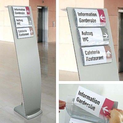 Prestige information stand