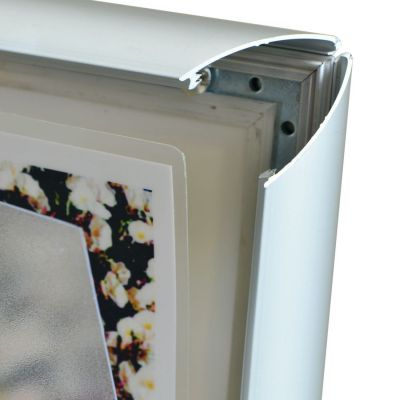 Snap frames for laminated paper
