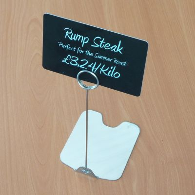 Stainless Steel Ticket stands for food display