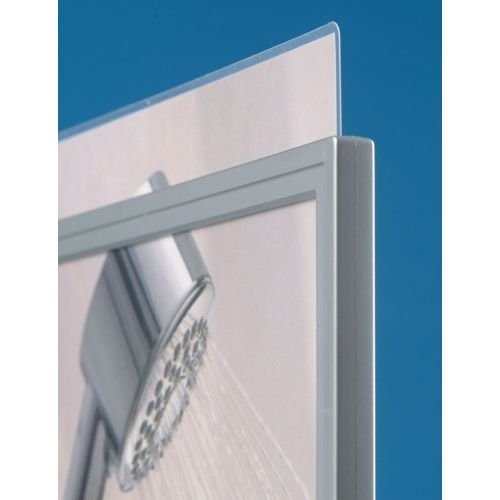 Silver Plastic Sign & Poster Holders | Sign-Holders.co.uk