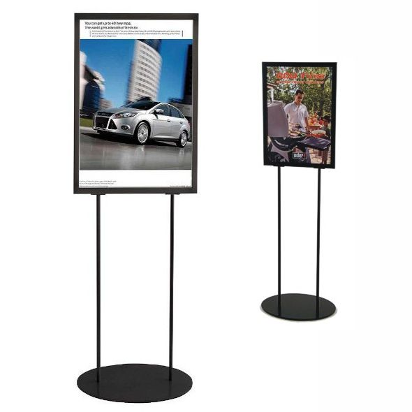 Black Poster Stand Sign Holders Co Uk