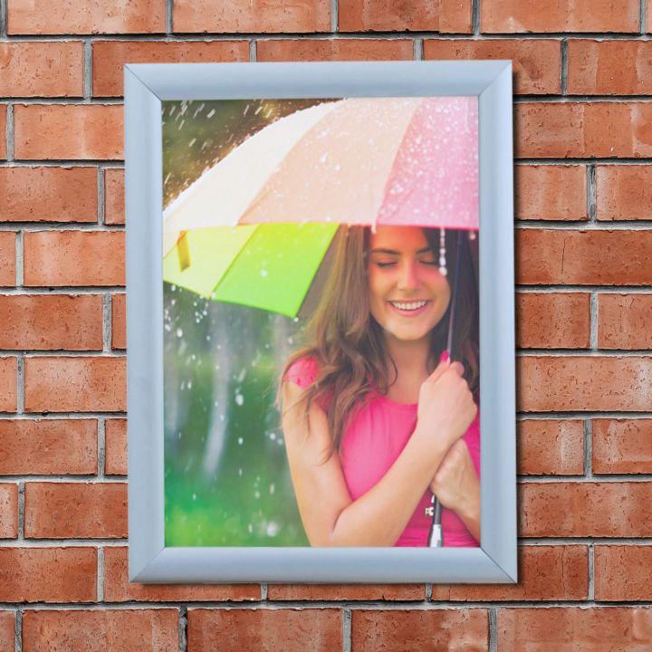 Outdoor Waterproof Poster Frames Snap Open Sign Holders Co Uk