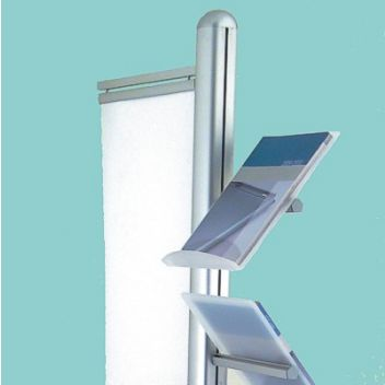 5 Shelf Leaflet Holder Stand