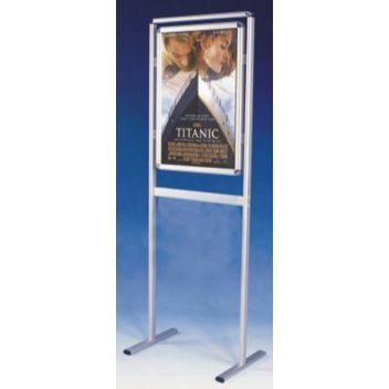 A1 poster stand double-sided