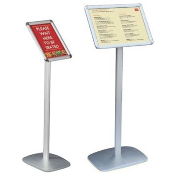 Snap frame floor signs | Smart versatile range | Sign-Holders.co.uk