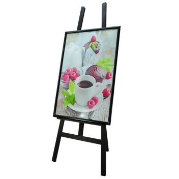 Easels with A1 poster display frame