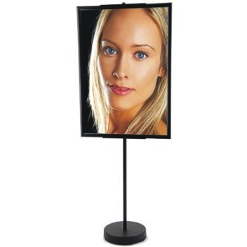 Black Snap frame sign stand