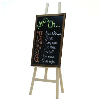 Blackboard and easel - large