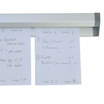 Note grabber / kitchen order holder