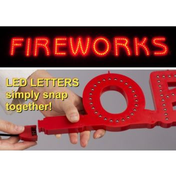 Fireworks LED Sign