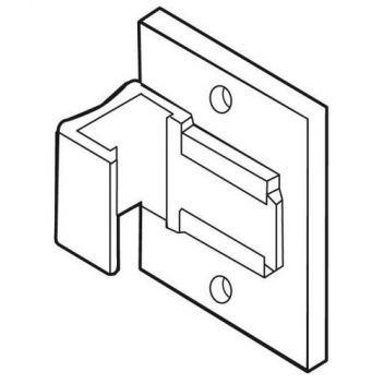 Wall clips for A2 plastic frames