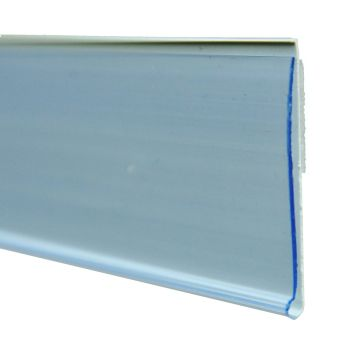 Flat Shelf Data strip vertical with adhesive