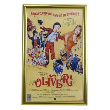 "Folio poster frame 12.5 x 20"" Gold"