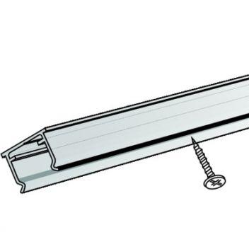 Grip Strip clear PVC U-channel fixing