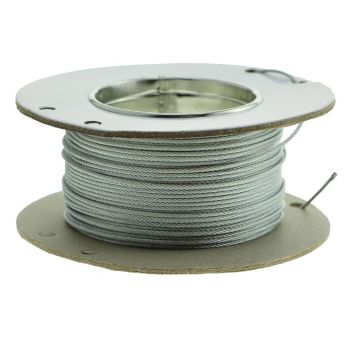 50m reel 1.5mm galvanised wire rope