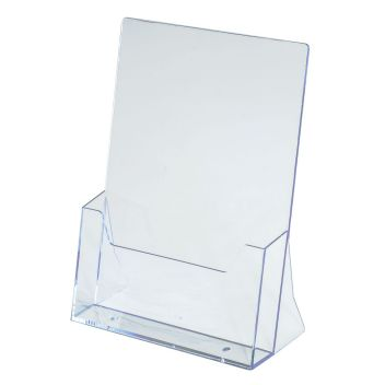 A4 leaflet holders, A4 brochure holders