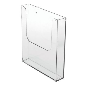 Leaflet holder A5 wall