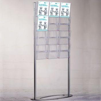 Literature display rack | 24 A4 pockets
