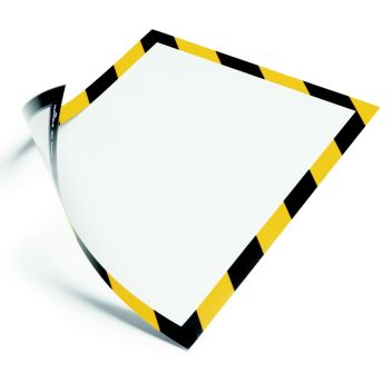 A4 Magnetic warning and safety sign holder