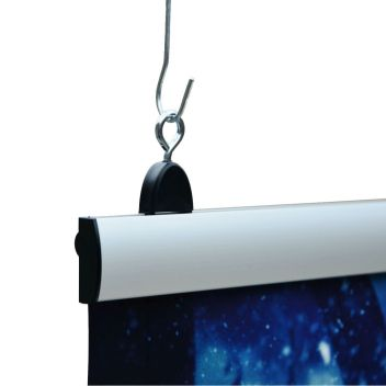 Poster Clamps - banner hanging bars